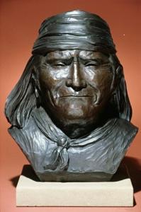 Geronimo bust